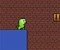 יצור ירוק, קירות כחולים